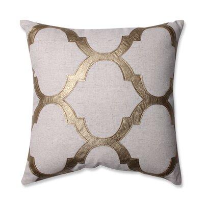 Glitz Throw Pillow Color: Gold
