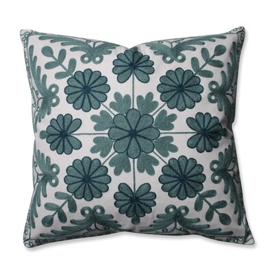 Sylvan Throw Pillow Color: Cerulean