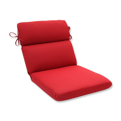 Outdoor Lounge Chair Cushion Size: 37 x 18 x 3