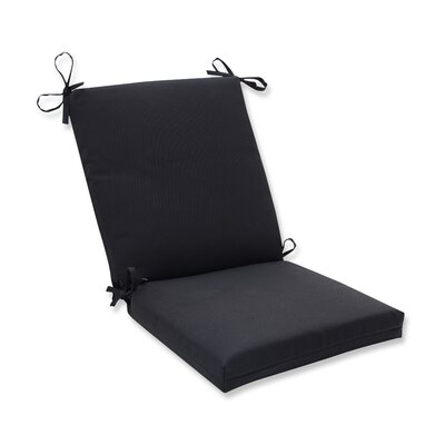 Fresco Outdoor Chair Cushion Color: Black
