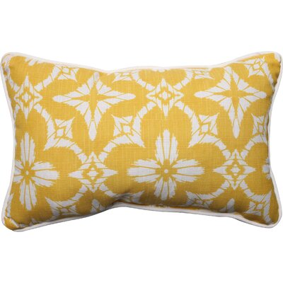 Aspidoras Outdoor Lumbar Pillow Color: Soleil, Size: 16.5 H x 24.5 W