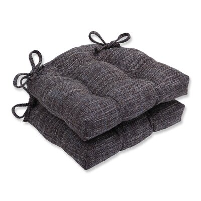Tweak Gravel Reversible Chair Cushions Color: Gravel