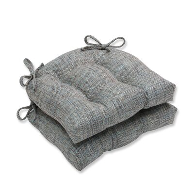 Tweak Gravel Reversible Chair Cushions Color: Mineral
