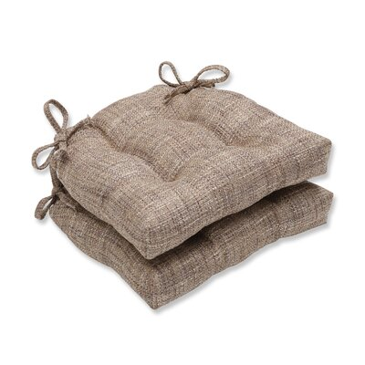 Tweak Gravel Reversible Chair Cushions Color: Nutria