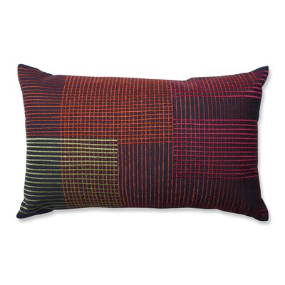Graphic Lines 100% Cotton Lumbar Pillow