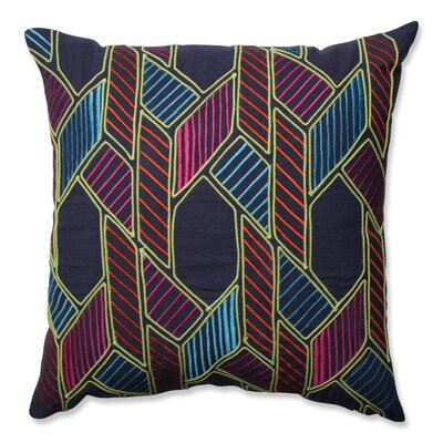 Graphic Geometric 100% Cotton Throw Pillow