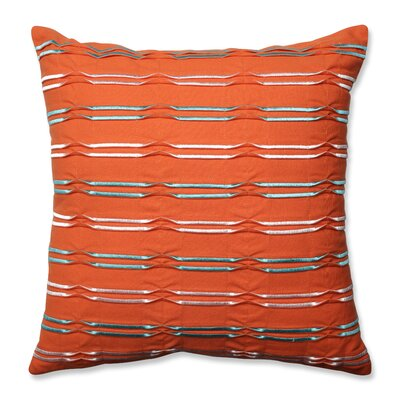 Dimensional Lines 100% Cotton Throw Pillow
