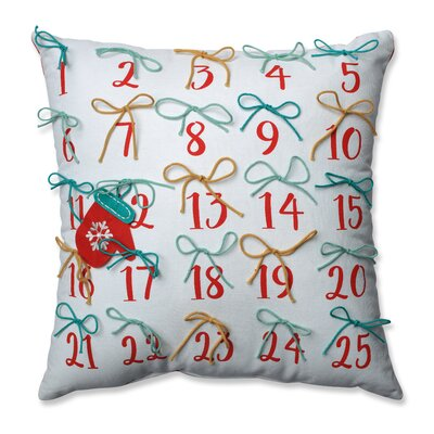 Advent 100% Cotton Throw Pillow