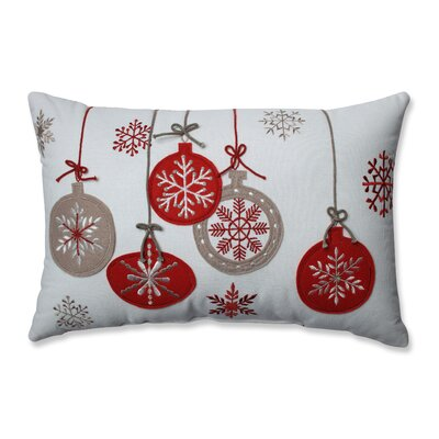 Country Home Ornaments 100% Cotton Lumbar Pillow
