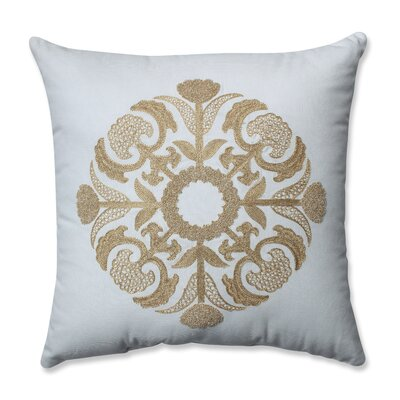 Glamour Medallion 100% Cotton Throw Pillow