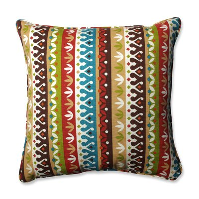 Cotrell Indoor/Outdoor Floor Pillow Color: Jungle