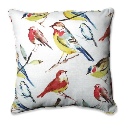 Bird Watcher Summer Floor Pillow