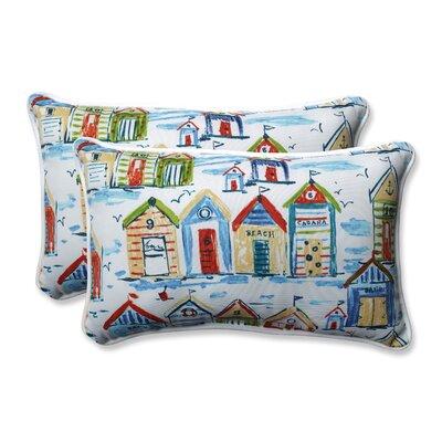 Baycove Cabana Outdoo/Indoor Lumbar Pillow Size: 11.5 H x 18.5 W x 5 D