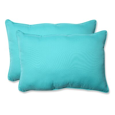 Splash Outdoor/Indoor Lumbar Pillow Size: 11.5 H x 18.5 W x 5 D, Color: Maui