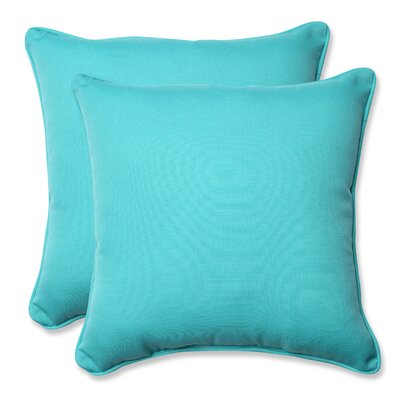 Splash Outdoor/Indoor Throw Pillow Color: Maui