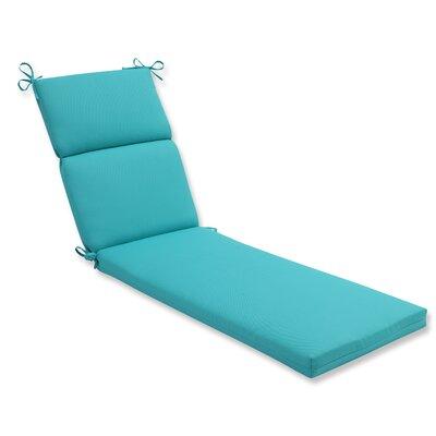 Splash Outdoor Chaise Lounge Cushion Fabric: Maui