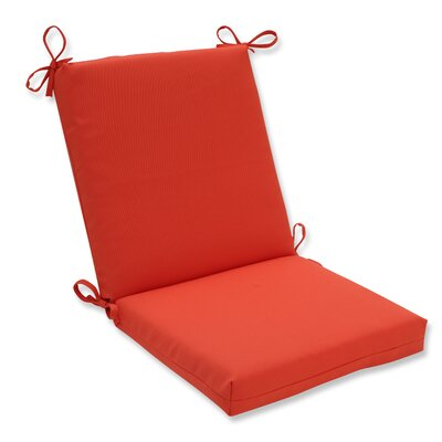 Splash Outdoor Dining Chair Cushion Fabric: Mango