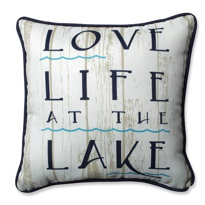 Lakelife Throw Pillow