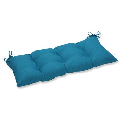 Rave Outdoor Bench Cushion Fabric: Peacock