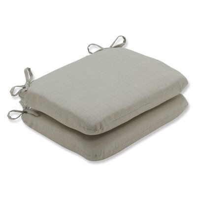 Rave Outdoor Corner Seat Cushion Fabric: Driftwood