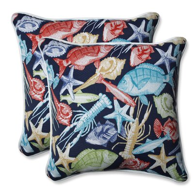 Keyisle Regata Outdoor/Indoor Throw Pillow