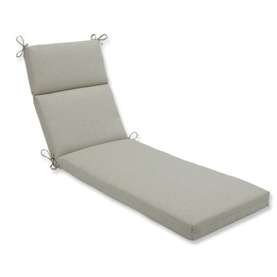 Rave Outdoor Chaise Lounge Cushion Fabric: Driftwood