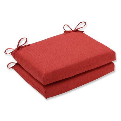 Rave Outdoor Chair Seat Cushion Fabric: Flame