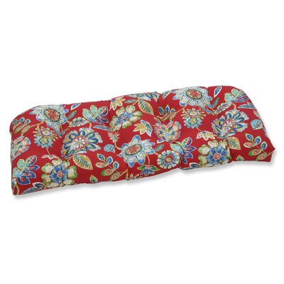 Daelyn Outdoor Loveseat Cushion