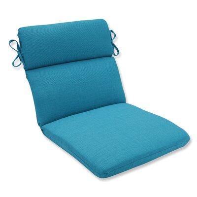 Rave Outdoor Corner Chair Cushion Fabric: Peacock