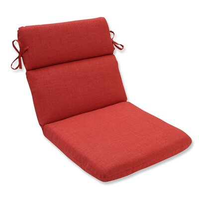 Rave Outdoor Corner Chair Cushion Fabric: Flame