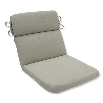 Rave Outdoor Corner Chair Cushion Fabric: Driftwood