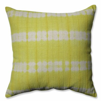 Mirage Cotton Throw Pillow Color: Apple - Green