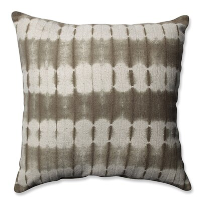 Mirage Cotton Throw Pillow Color: Latte