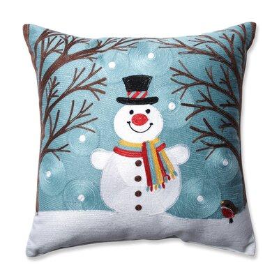 Winter Wonderland Frost Throw Pillow