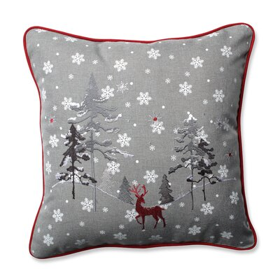 The Reindeer Throw Pillow