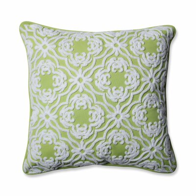 Allee Outdoor/Indoor Throw Pillow Color: Lime