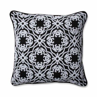 Allee Outdoor/Indoor Throw Pillow Color: Black