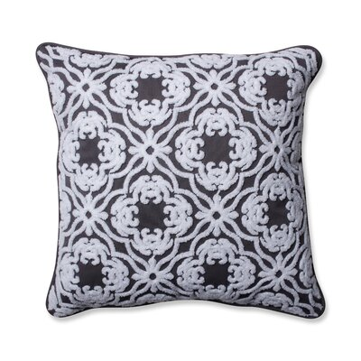 Allee Outdoor/Indoor Throw Pillow Color: Gray