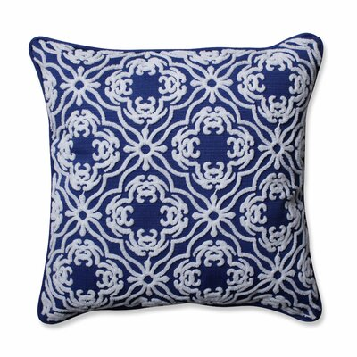 Allee Outdoor/Indoor Throw Pillow Color: Fresco Navy