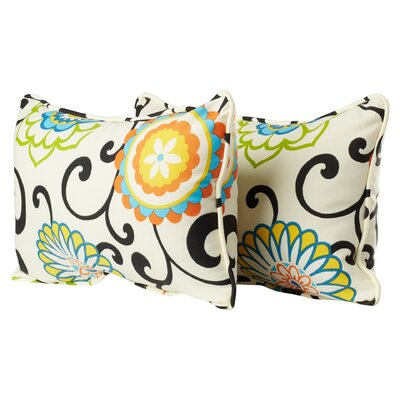 Pom Pom Play Corded Outdoor Lumbar Pillow Size: 11.5 H x 18.5: W x 5 D