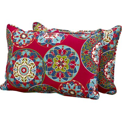 Cera Garden Indoor/Outdoor Lumbar Pillow Size: 11.5 H x 18.5 W x 5 D