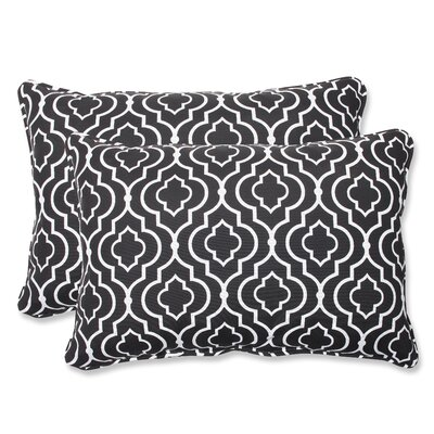 Starlet Outdoor Lumbar Pillow Size: 11.5 x 18.5, Fabric: Night