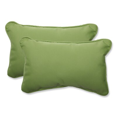 Canvas Outdoor Sunbrella Lumbar Pillow Fabric: Ginko