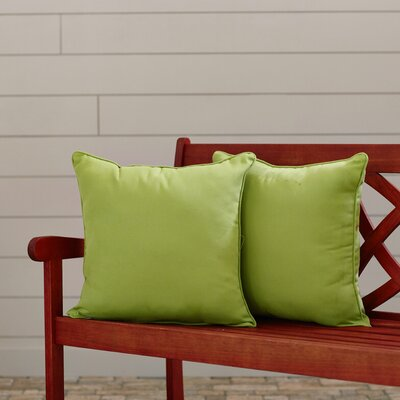 Canvas Outdoor Throw Pillow Fabric: Ginko