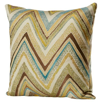 Bayridge Throw Pillow Size: 16.5 H x 16.5 W