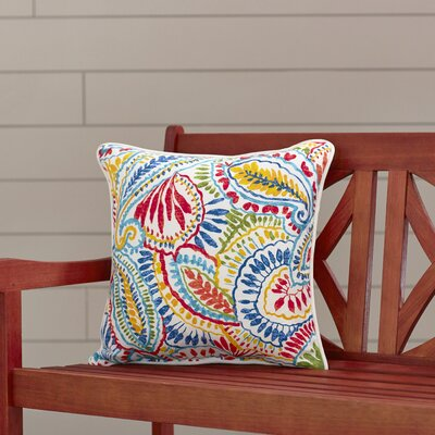 Toshia Outdoor Throw Pillow