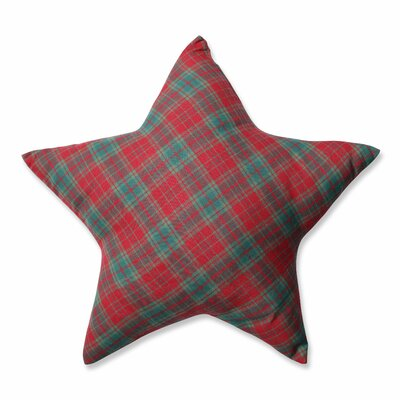 Plaid Star Throw Pillow