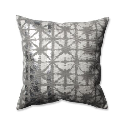 Griffin Throw Pillow Color: Silver