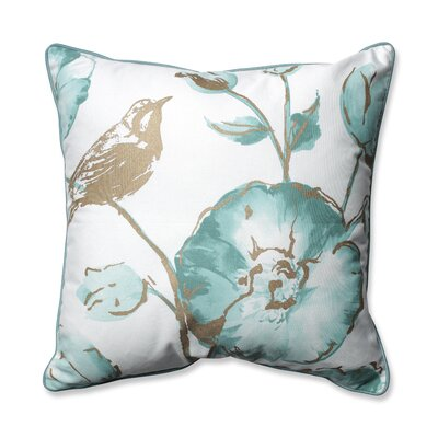 Olivia Throw Pillow Color: Mist
