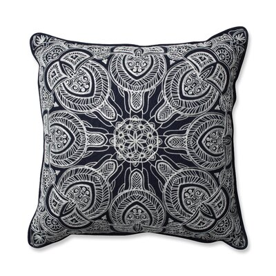 Quinn Throw Pillow Color: Navy